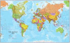 Cork World Map by Pinboard Political World Map 1 20