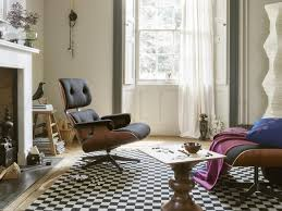 charles e sessel eames lounge chair u0026 ottoman sessel stoff twill