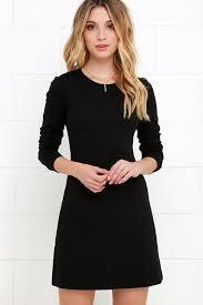 classic black dress lbd sleeve dress a line dress 48 00
