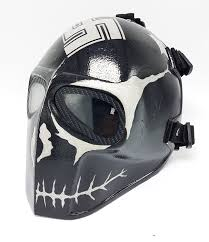 amazon com invader king zombie army of two airsoft mask