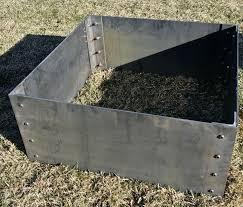 Corten Steel Planter by Corten Steel Planter Box Small Custom Metal Furnishings By Www
