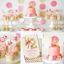 Pink And Gold Dessert Table by Pink And Gold Dessert Table Pinkandgold Halfbirthday Watercolor