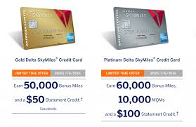 delta gold business card limited time 50k 60k delta skymiles amex offers