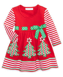 bonnie baby striped trees dress baby 0 24 months