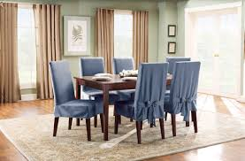 Room And Board Dining Chairs Sure Fit Cotton Duck Shorty Dining Chair Slipcover U0026 Reviews Wayfair