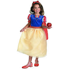 halloween costumes snow white amazon com snow white deluxe size 3t 4t clothing