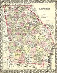 Georgia Counties Map Murray County Museum Historical Locations
