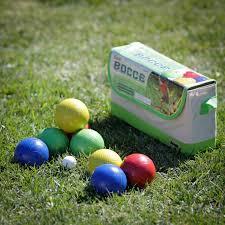 baden champions 107mm bocce ball set hayneedle