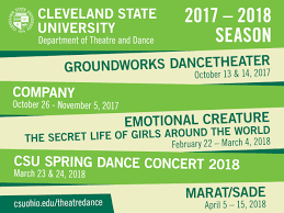 Cleveland State University Map by Theatre And Dance Cleveland State University