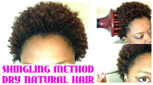 care free curl activator on natural hair no wash define go on short natural hair shingling on dry