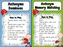 Antonym For Comfort Synonym Slam Hands On Synonym Activities Free Students Race