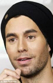 enrique iglesias hair tutorial enrique iglesias without makeup enrique iglesias without makeup