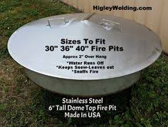 Stainless Steel Firepit Witches Witch Cauldron Pit Finished With A Stainless