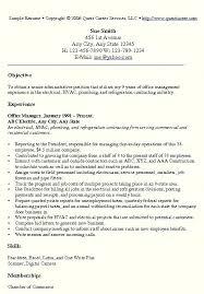 Office Job Resume Templates Resume Samples For Administrative Jobs Cover Letter Resume Sample