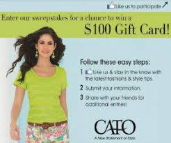 things that make you love and cato gift card cato gift