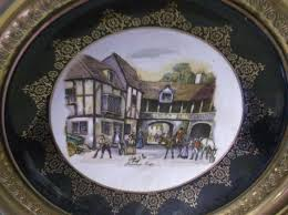 regency bone china made in england plates