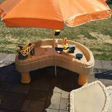 little tikes sand water table find more little tikes construction sand water table with umbrella