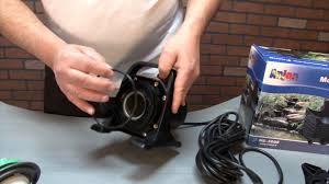 Aquascape Sfa3000 Monsoon Pond Pump Maintenance Youtube