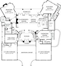 dual master suite home plans 2 master bedroom house plans house story house plans with 2 master