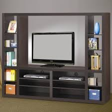 simple tv stand with showcase designs for living room home