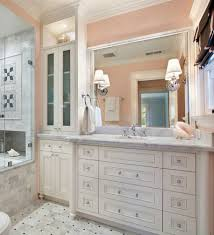 bathroom color ideas home log pale peach the bathroom color idea choice for romantics