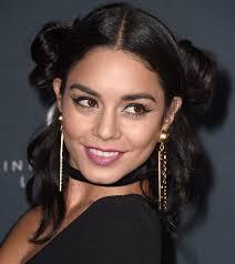 star wars hair styles vanessa hudgens wears a princess leia hairstyle ahead of star wars