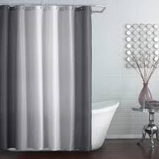 White Cotton Shower Curtain Bathroom Crate And Barrel Shower Curtains For The Perfect