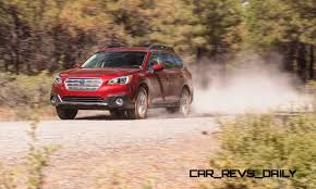 red subaru outback 2017 2015 subaru outback review