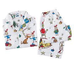 grinch pajamas size 2t pottery barn