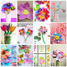 beautiful spring 12 beautiful spring flower process art ideas for kids