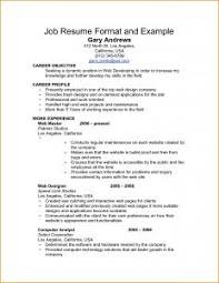 examples of resumes resume 10 best ever good well informed