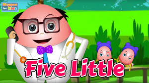 video for kids youtube kidsfuntv five little humpty jumping on the bed nursery rhyme for kids