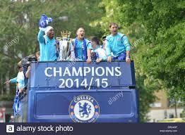 Chelsea Parade Chelsea London Uk 25th May 2015 Chelsea Football Club Premier