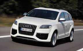 audi auto 2009 audi q7 v12 tdi diesel review car and driver