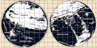Earth Maps The Hollow Earth Maps Of The Third Reich There Is An Entrance To
