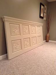 Homemade Headboards For King Size Beds by Best 25 King Headboard Ideas On Pinterest King Size Headboard