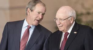 George Bush Cabinet Cheney And George W Bush Together Again Politico