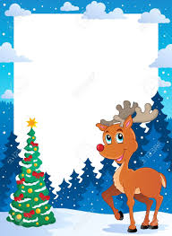 christmas theme frame royalty free cliparts vectors and stock