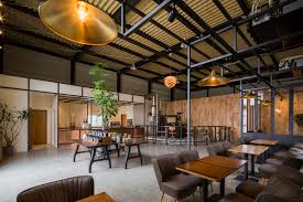 Warehouse Interior 156 Sqm Coffee Shop Cafe Design Idea From Warehouse Conversion