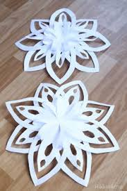 how to make a 3d snowflake 3d snowflakes step guide and snowflakes