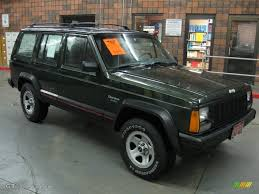 jeep cherokee sport green 1996 moss green pearl jeep cherokee sport 4wd 22146755 gtcarlot