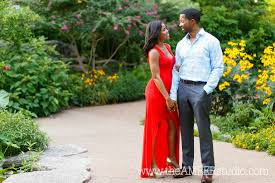 Ft Worth Botanical Gardens Weddings by Candice U0026 Corey Are Getting Married The Amber Studio African