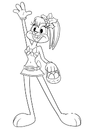 lola bunny coloring pages download print free