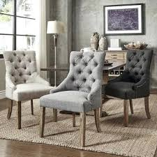 Nailheads For Upholstery Grey Tufted Dining Chairs With Nailheads White Chair Nailhead Trim