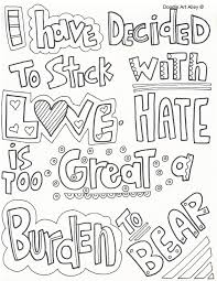 Martin Luther King Jr Coloring Pages Doodle Art Alley Mlk Coloring Pages