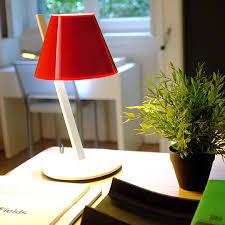 artemide le bureau artemide la le à poser led blanc h37cm bureau