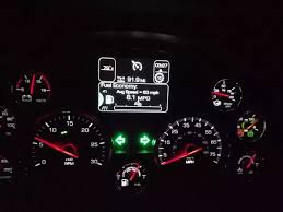 peterbilt dash warning lights what do all the controls on a truck dashboard do quora