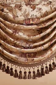 oriental tree of life swag and tails valance curtain drapes