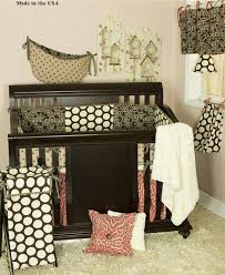 Black Nursery Furniture Sets by Bedroom Nice Gray Eddie Bauer Crib With Decorative Bedding For