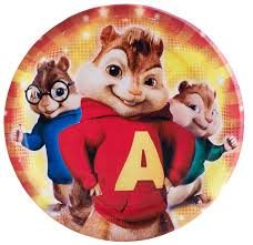 alvin chipmunks party plates chipmunk party